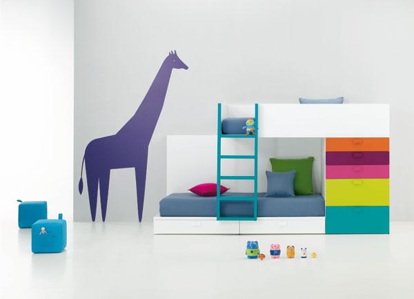 Habitaciones infantiles compartidas la oca es inspiraci n - Habitaciones infantiles compartidas ...