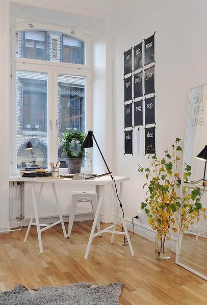 C mo crear una zona de trabajo en tu casa la oca es for Organizar salon