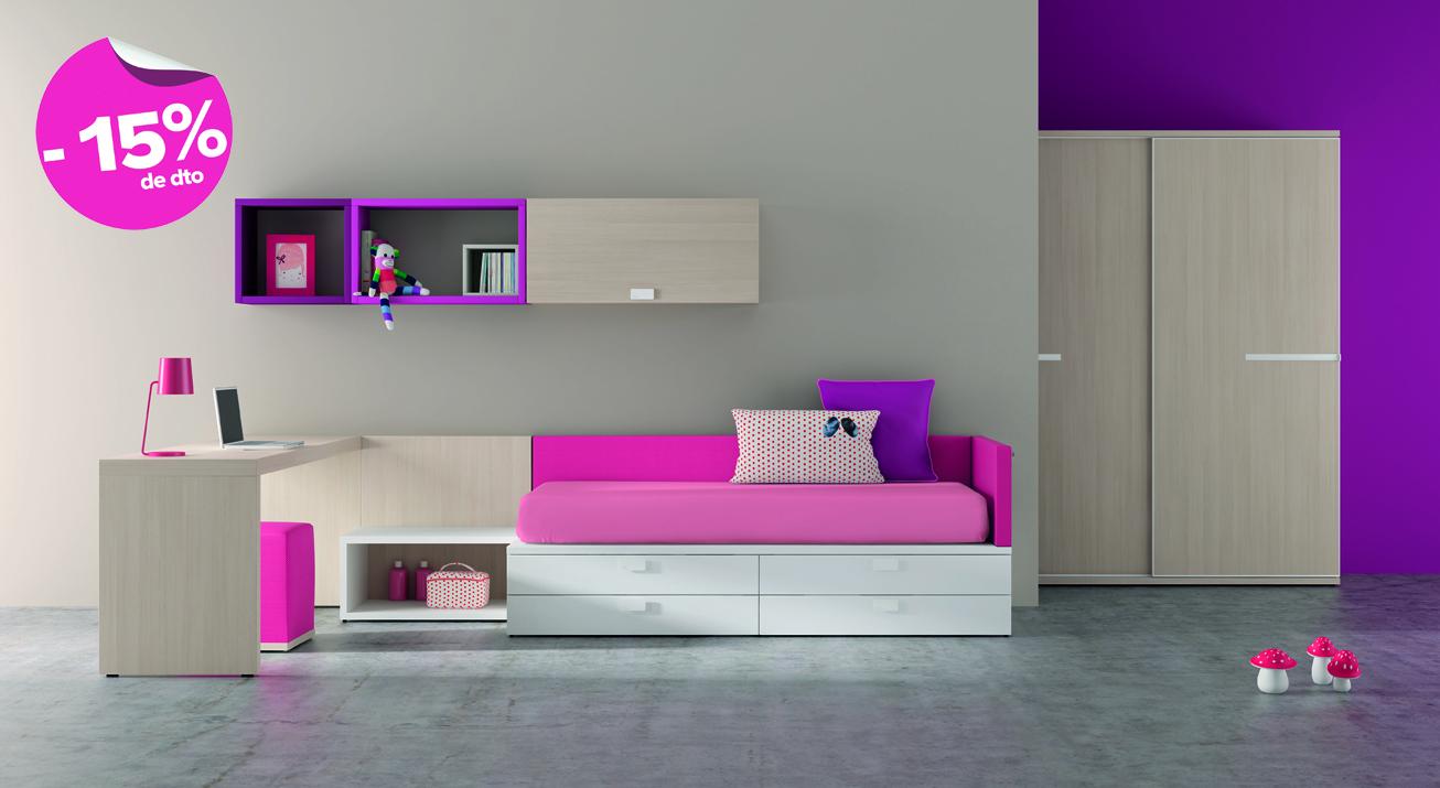 Juveniles la oca es inspiraci n - Dormitorios individuales modernos ...