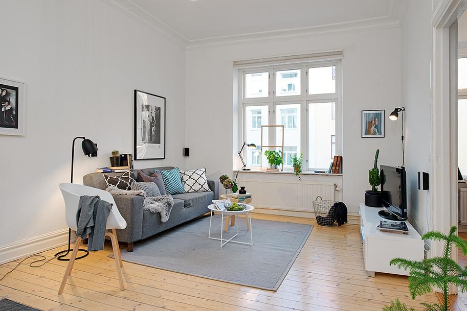 Apartamento la oca es inspiraci n for Comedor 30 metros cuadrados