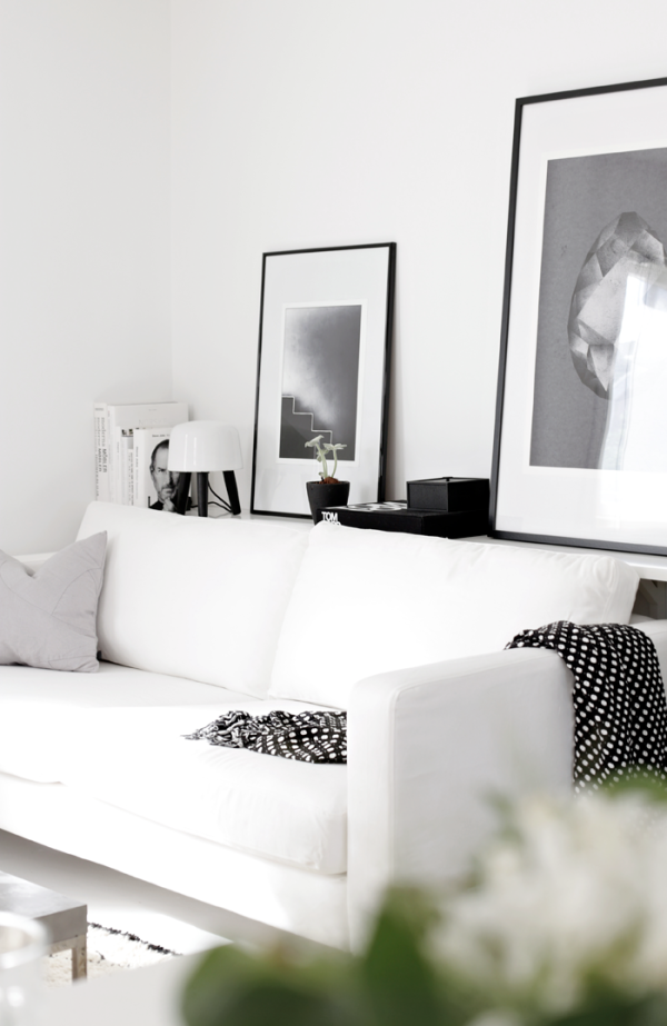 White-living-room