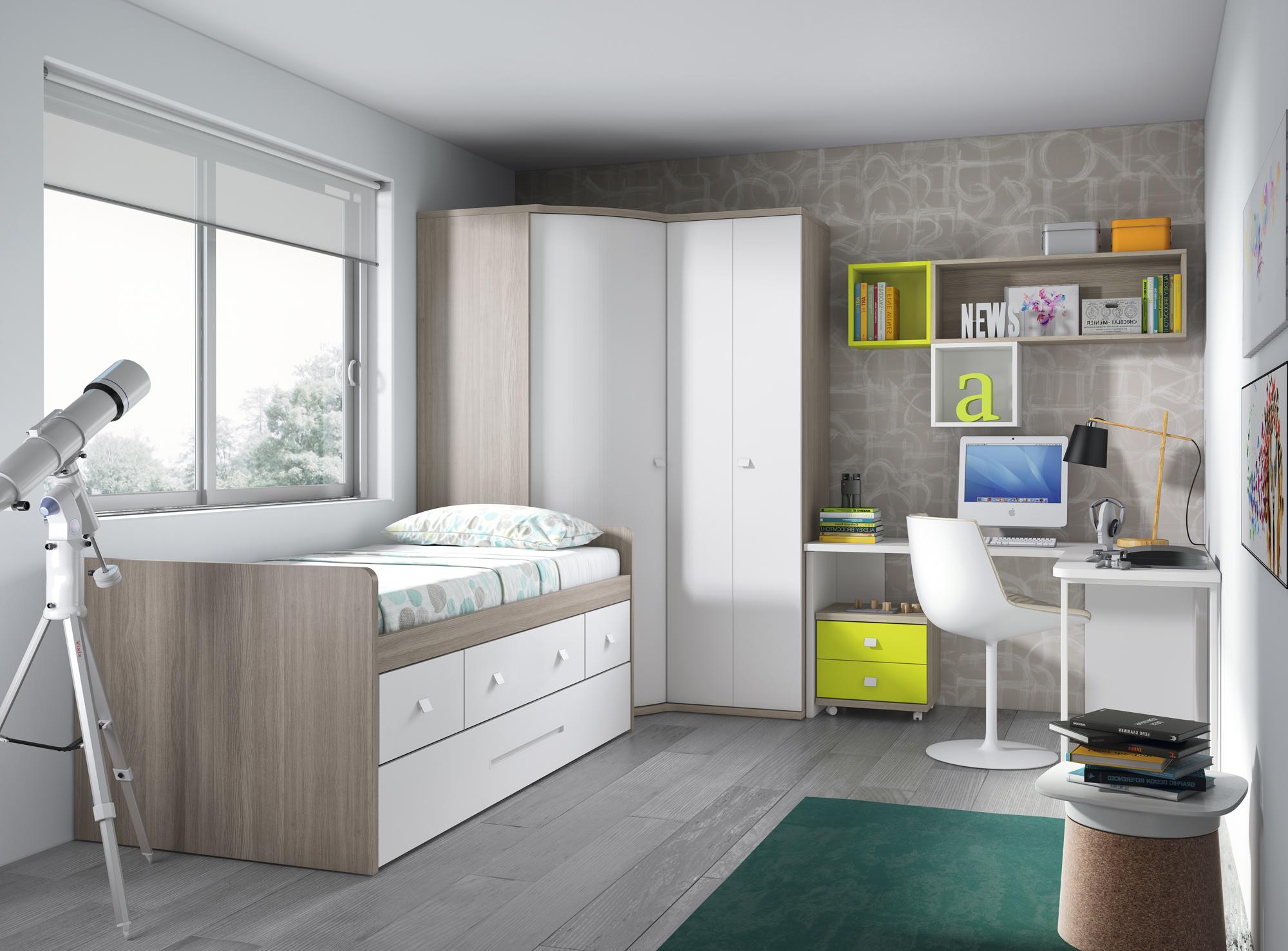 Decora la habitaci n juvenil la oca es inspiraci n for Programa para amueblar habitaciones
