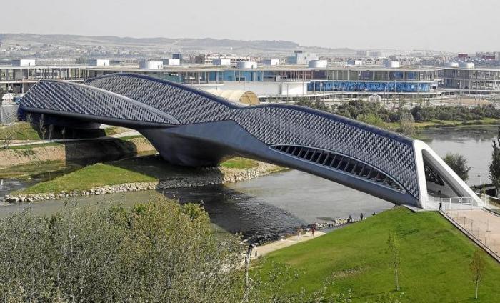 Pabellon Puente Exposición Internacional de Zaragoza